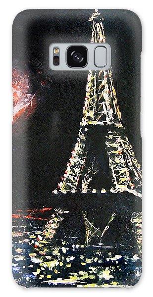Paris Night Galaxy Case