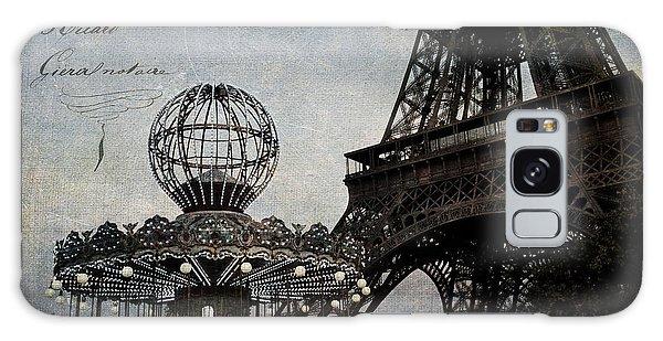 Paris One More Ride Galaxy Case