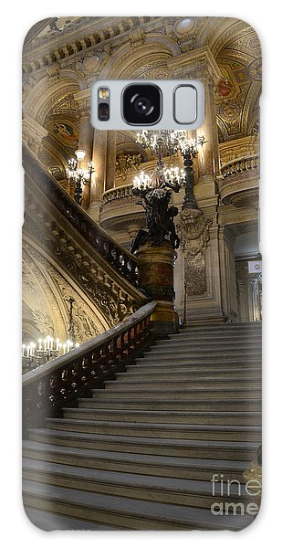 Paris Opera Garnier Grand Staircase - Paris Opera House Architecture Grand Staircase Fine Art Galaxy Case