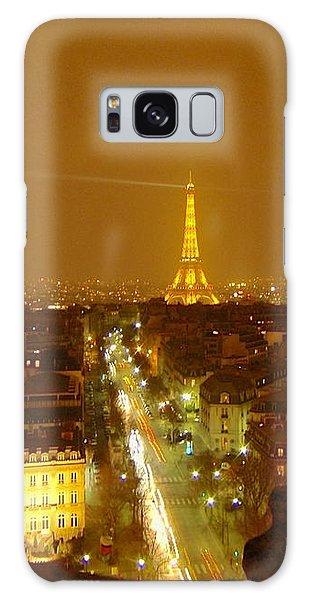 Paris Orange Galaxy Case