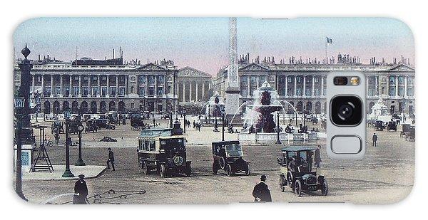 Paris Place De La Concorde 1910 Galaxy Case