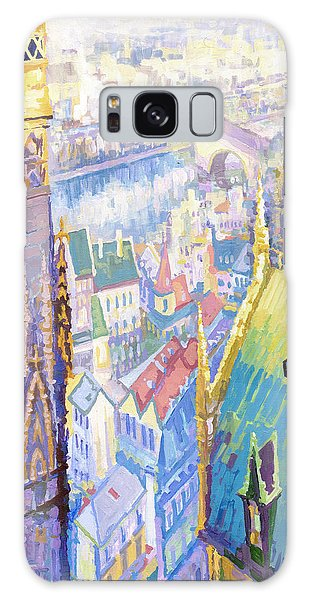 Paris Shadow Notre Dame De Paris Galaxy Case