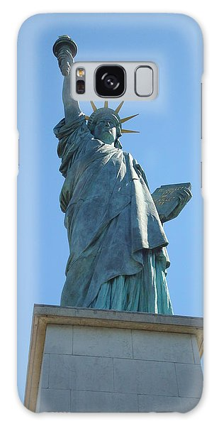 Paris Statue Of Liberty Galaxy Case by Kay Gilley