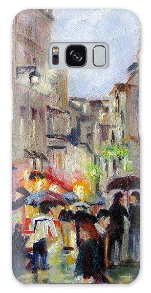 Paris Stroll In The Rain Galaxy Case