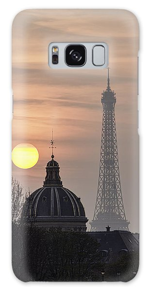Paris Sunset I Galaxy Case