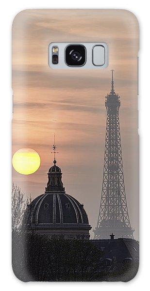 Paris Sunset I Galaxy Case