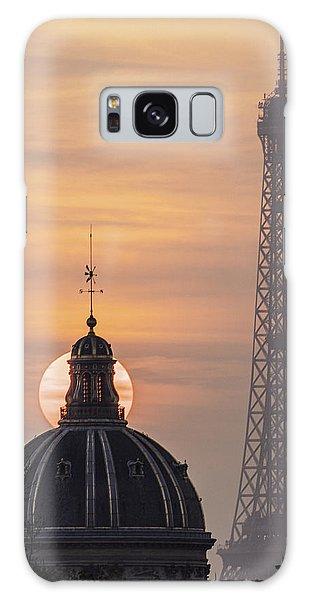 Paris Sunset IIi Galaxy Case