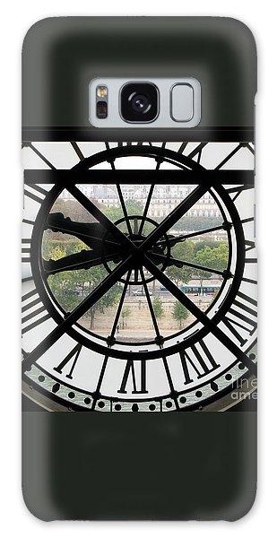 Paris Time Galaxy Case by Ann Horn