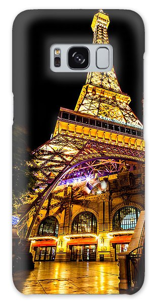 Paris Under The Tower Galaxy Case by Az Jackson