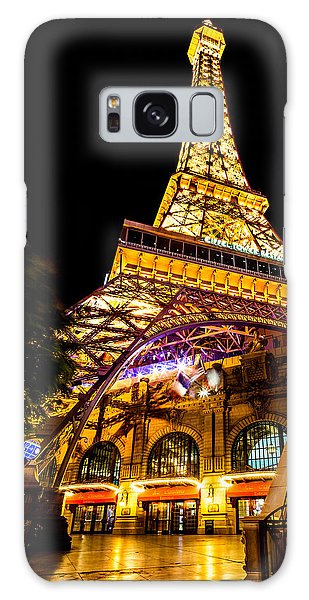 Hallway Galaxy Case - Paris Under The Tower by Az Jackson