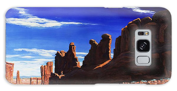 Park Avenue At Arches Galaxy Case