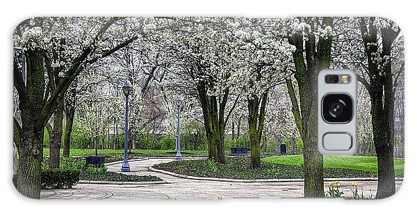 Park Blossoms Galaxy Case