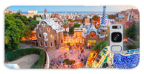 Park Guell In Barcelona - Spain Galaxy Case