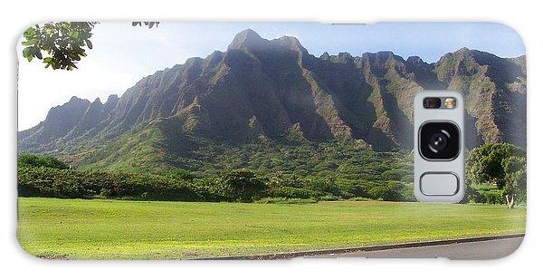 Park On Oahu Galaxy Case