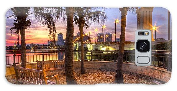 Flagler Galaxy Case - Park On The West Palm Beach Wateway by Debra and Dave Vanderlaan