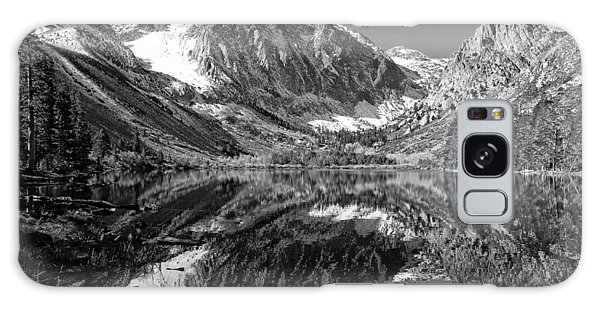 Parker Lake Black And White Galaxy Case
