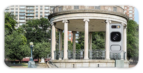 Parkman Bandstand In Boston Public Garden Galaxy Case