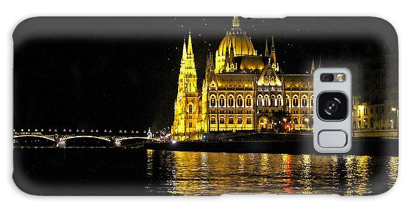 Parliament At Night Galaxy Case
