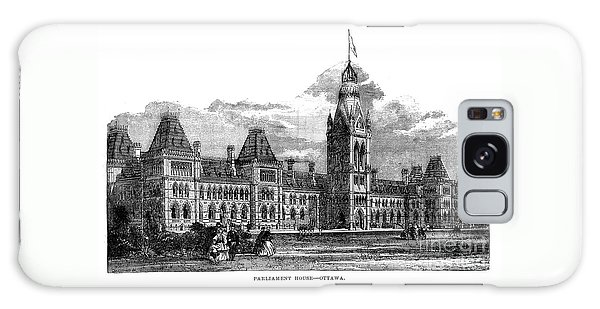 Parliament Building - Ottawa - 1878 Galaxy Case