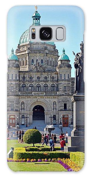 Parliament Building Dome. Victoria British Columbia Galaxy Case by Connie Fox