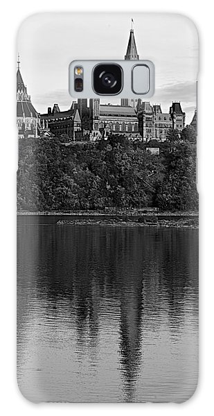 Parliament Of Canada Galaxy Case by Andre Faubert