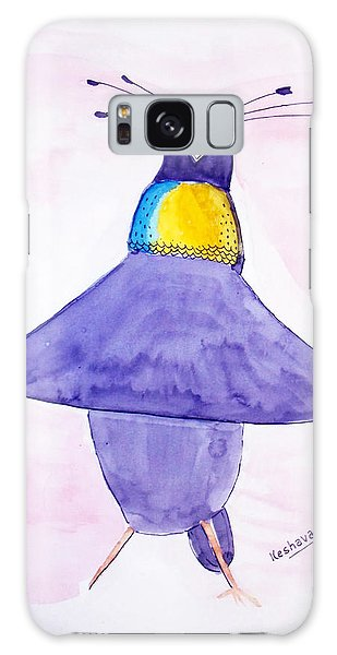 Parotia Dancing - Bird Of Paradise Galaxy Case