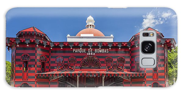 Parque De Bombas Fire Station In Ponce Puerto Rico Galaxy Case