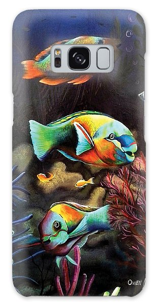 Parrot Fish Galaxy Case