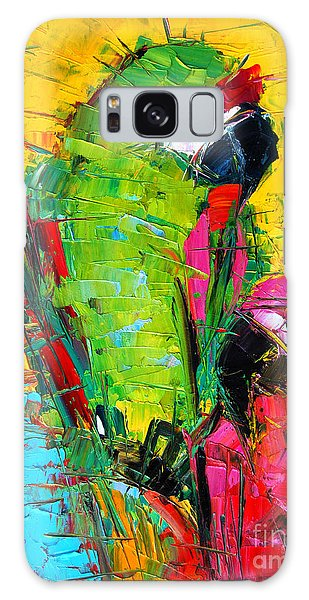 Parrot Galaxy S8 Case - Parrot Lovers by Mona Edulesco