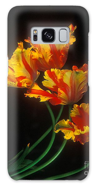 Parrot Tulips On Easter Morning Vertical Galaxy Case