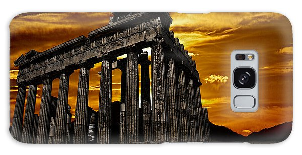 Parthenon Galaxy Case by Shirley Mangini