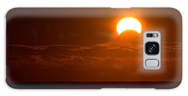 Partial  Eclipse Of The Sun Galaxy Case by Greg Graham