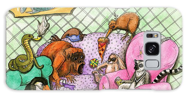 Party Animals Galaxy Case