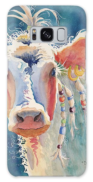 Earring Galaxy Case - Party Gal - Cow by Deb Harclerode