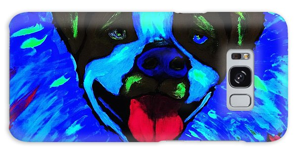 Party Pitty Galaxy Case by Lisa Brandel