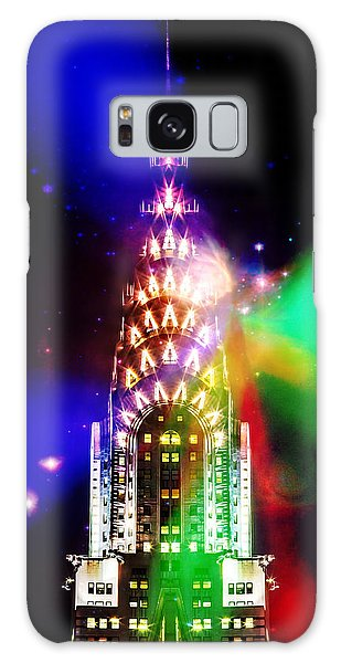 Chrysler Building Galaxy Case - Party Time by Az Jackson
