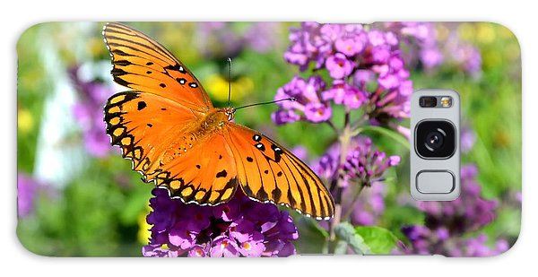 Passion Butterfly Galaxy Case by Deena Stoddard