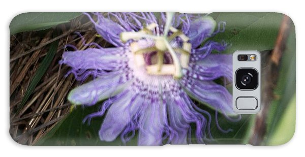 Passion Flower I Galaxy Case