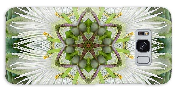 Passion Flower Mandala Galaxy Case