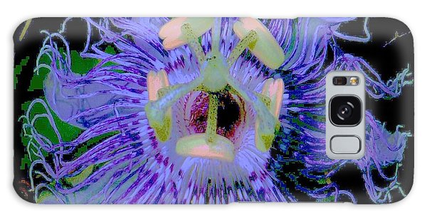Passion Flower  Galaxy Case by Shirley Moravec