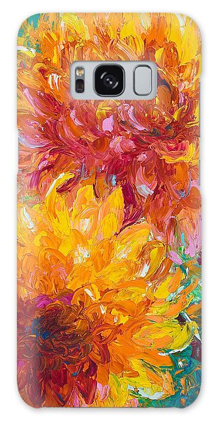 Impressionism Galaxy Case - Passion by Talya Johnson