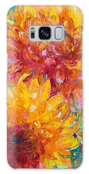 Bright Sun Galaxy Case - Passion by Talya Johnson
