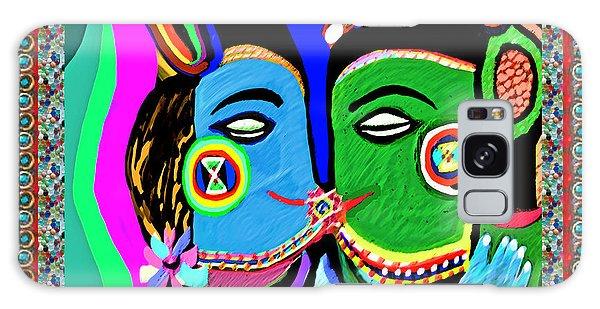 Passionate Kiss Kamasutra Khajuraho India Cave Style Art Navinjoshi Rights Managed Images Graphic De Galaxy Case