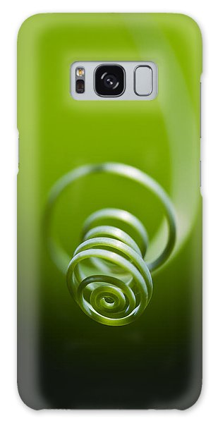 Passionflower Tendril Galaxy Case