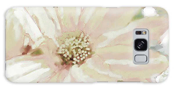 Pastel Daisy Photoart Galaxy Case