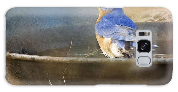 Pastel Eastern Bluebird Galaxy Case