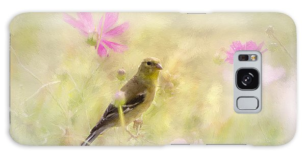 Pastel Finch In Oil Galaxy Case