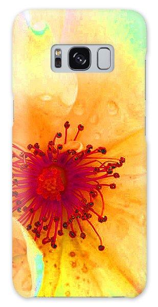 Pastel Garden Galaxy Case