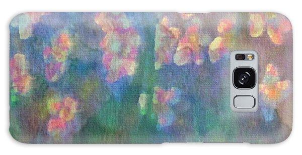 Pastel Petals Galaxy Case