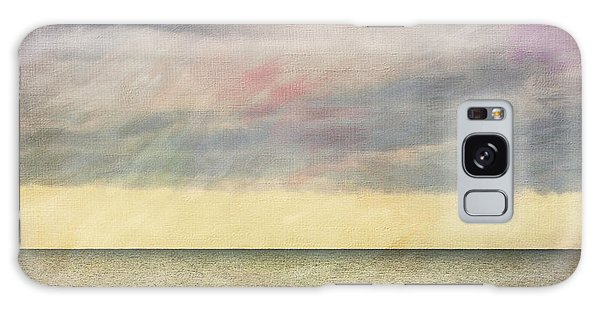 Pastel Sea - Textured Galaxy Case by Karen Stephenson
